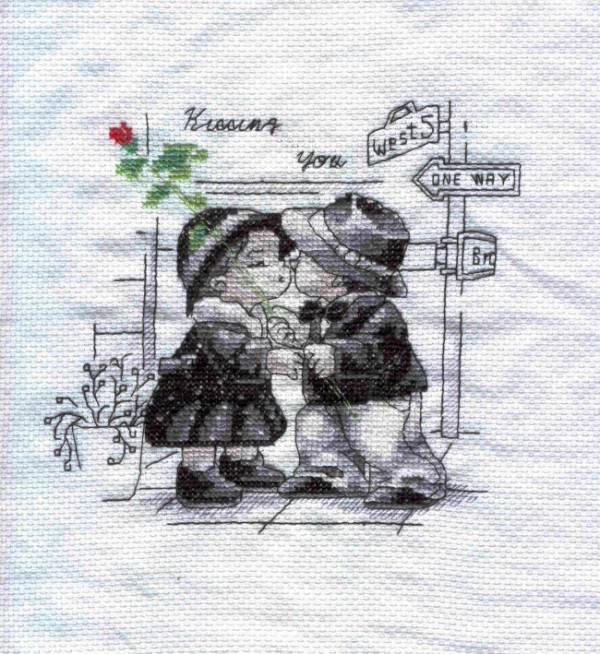 Размер:30 х 30 см. Схема для вышивания * Краткая инструкция на русском языке.  Страна: Китай. крест.